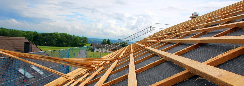 Aislamiento de techos y paredes