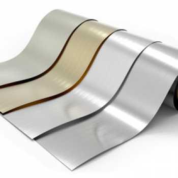 Ofrecemos aluminio lacado en bobinas de pequeñas cantidades