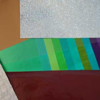Láminas de aluminio lacado y gofrado; y laminaciones.